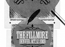Lotus At The Fillmore-grayscale