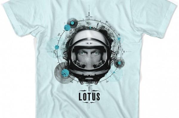 Lotus Rocketman T-Shirt